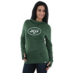 Women's Majestic New York Jets Great Play Hoodie