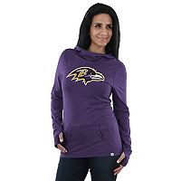 Women's Majestic Baltimore Ravens Great Play Hoodie