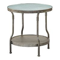 INK+IVY Cambridge Round End Table