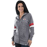 Women's Majestic Kansas City Chiefs Traditional Hoodie