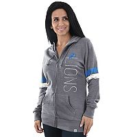 Women's Majestic Detroit Lions Traditional Hoodie