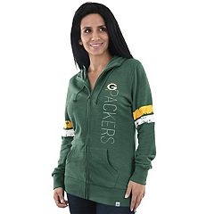 Women's Majestic Green Bay Packers Traditional Hoodie