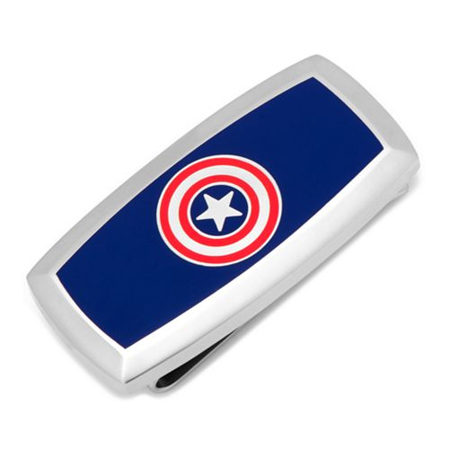 Marvel Comics Captain America Cushioned Money Clip