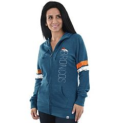 Women's Majestic Denver Broncos Traditional Hoodie