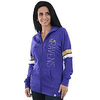 Women's Majestic Baltimore Ravens Traditional Hoodie
