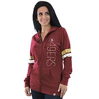 Women's Majestic San Francisco 49ers Traditional Hoodie