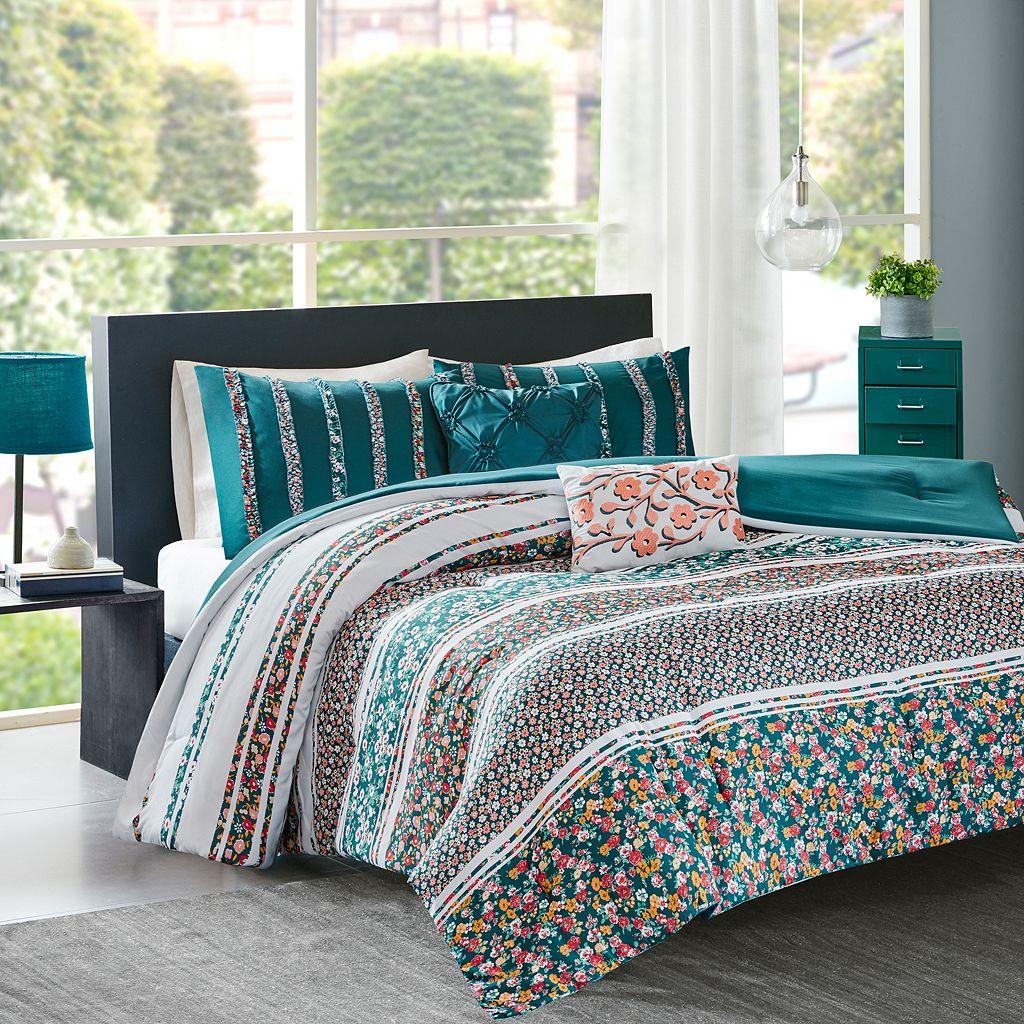 Intelligent Design Amelia Comforter Set