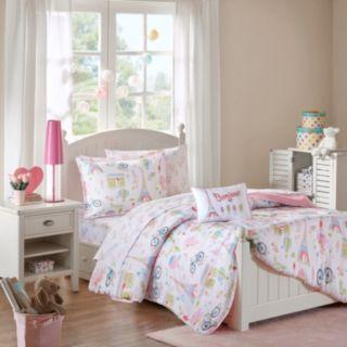 Mi Zone Kids Penelope The Poodle Comforter Set