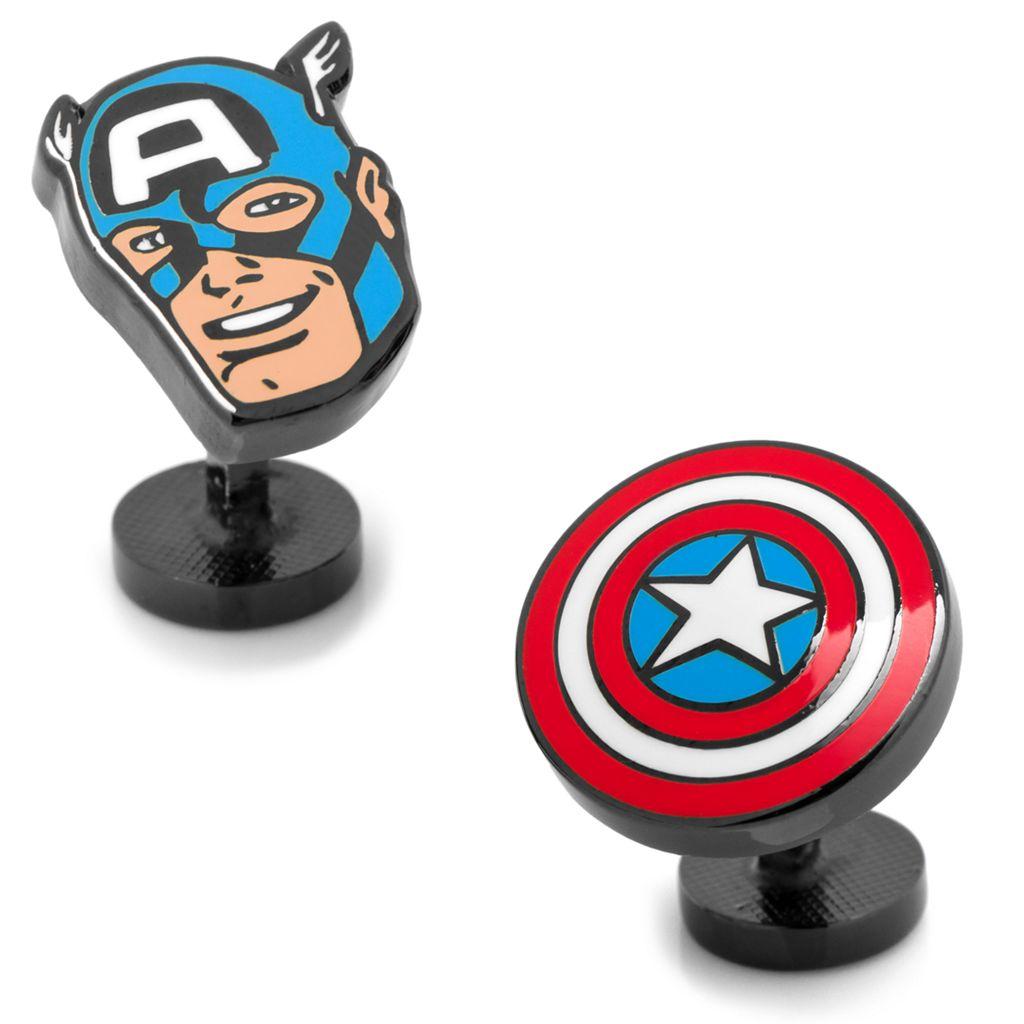 Marvel Comics Captain America Comics Cuff Links