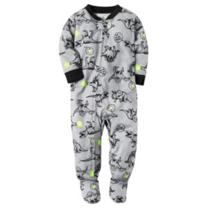 Baby Boy Carter's Print Footed Pajamas