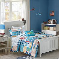 Mi Zone Kids Traveling Trevor Comforter Set