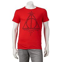 Men's Harry Potter Deathly Hallows Symbol Tee