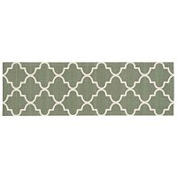 Waverly Sun N' Shade Quatrefoil Indoor Outdoor Rug Runner - 1'10'' x 6'