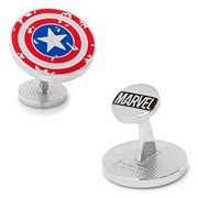 Marvel Comics Captain America Distressed Shield Cuff Links
