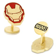 Marvel Comics Iron Man Helmet Cuff Links