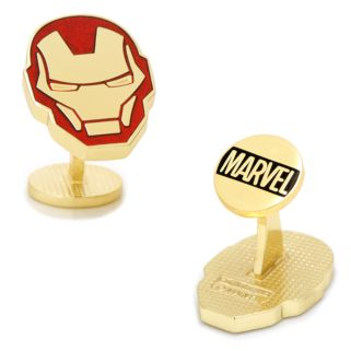 Marvel Iron Man Helmet Cuff Links