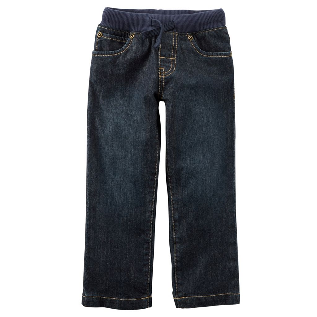 Baby Boy Carter's Pull-On Jeans