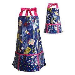 Girls 4-16 Dollie & Me Laminated Art Smock Set