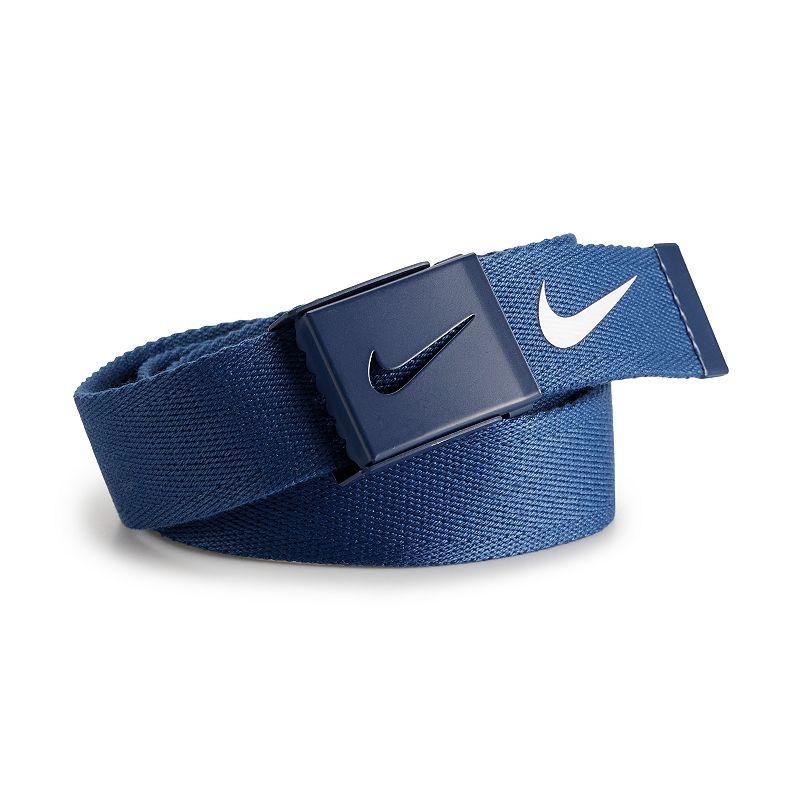 Nike Tech Essentials Single Web Golf Belt - Mens - College Navy