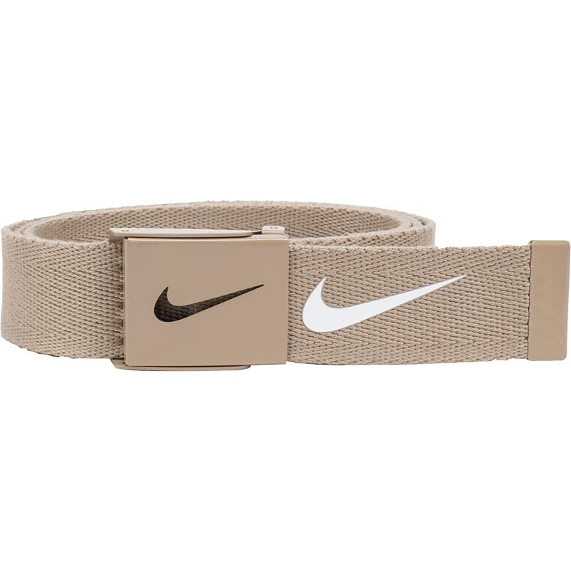 Nike Tech Essentials Single Web Golf Belt - Mens - Tan