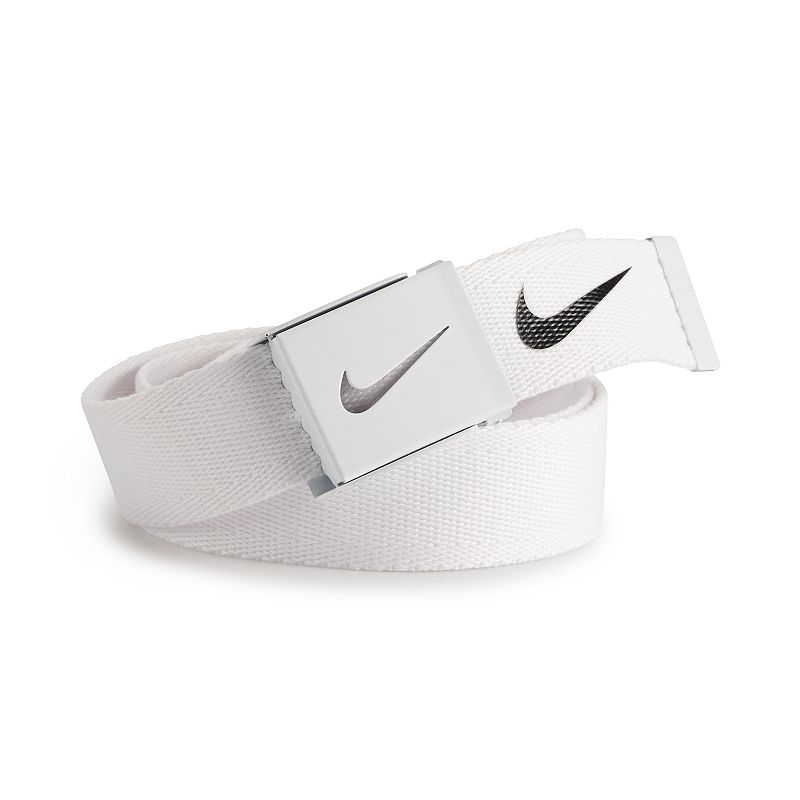 Nike Tech Essentials Single Web Golf Belt - Mens - White