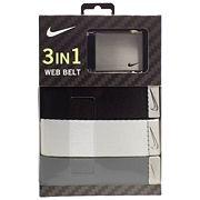Men's Nike 3-in-1 Golf Web Belt Pack