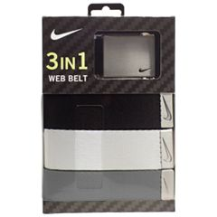 Men's Nike 3-in-1 Golf Web Belt Pack