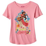 Disney's Elena of Avalor Girls Plus Size 'Brave Spirit' Graphic Tee