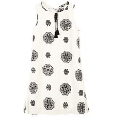Girls 7-16 Speechless Pinwheel Shift Dress