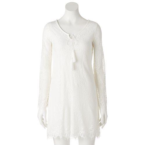 Women's Tiana B Floral Lace Shift Dress