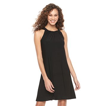 Women's MSK Halter Shift Dress