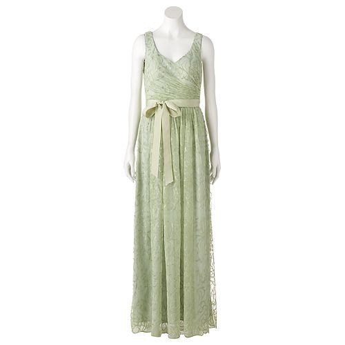 Women's Onyx Nite Shirred Waist Gown