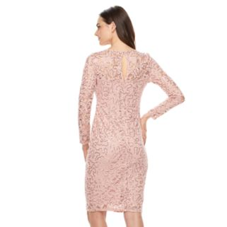 Women's Onyx Nite Lace Sheath Dress