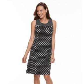 Women's Perceptions Polka-Dot Shift Dress