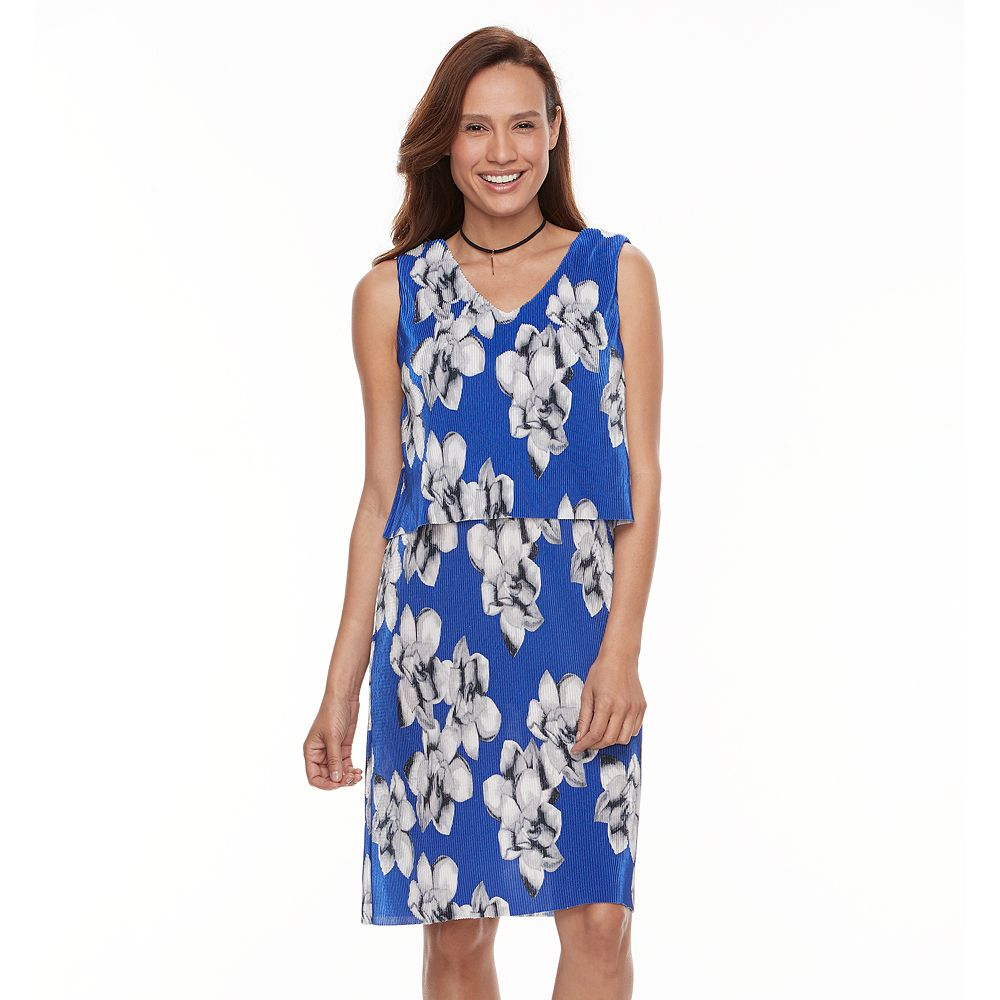 Perceptions Floral Popover Dress