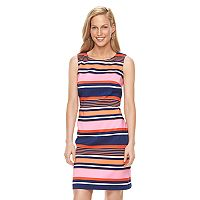 Women's Ronni Nicole Striped Sheath Dress