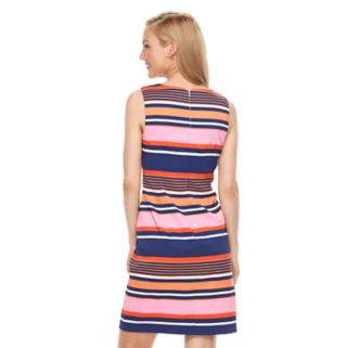 Women's Ronni Nicole Striped Sheath Dress
