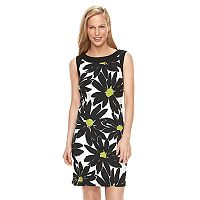 Women's Ronni Nicole Floral Daisy Sheath Dress