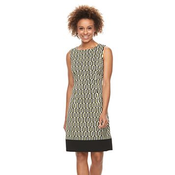 Women's Ronni Nicole Geometric Shift Dress