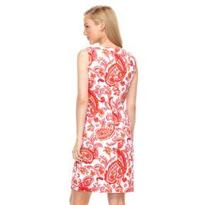 Women's Ronni Nicole Paisley Sheath Dress