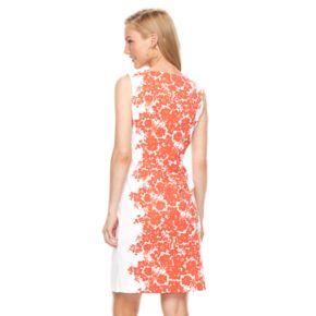 Women's Ronni Nicole Floral Sheath Dress