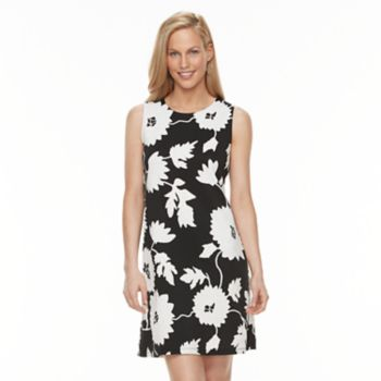 Women's Ronni Nicole Embroidered Floral Shift Dress
