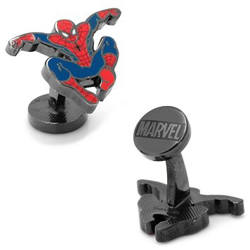 Marvel Comics Spider-Man Hero Cuff Links