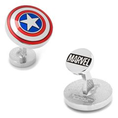 Marvel Comics The Avengers Captain America Shield Cuff Links