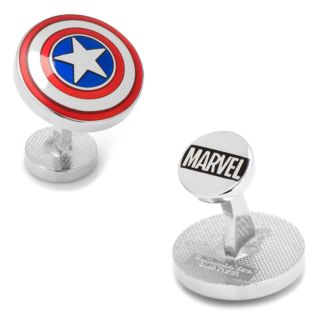 Marvel The Avengers Captain America Shield Cuff Links