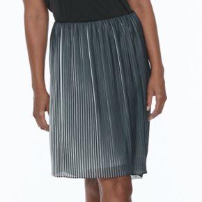 Women's Apt. 9® Pleated High-Low Skirt