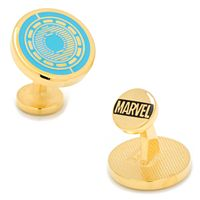 Marvel Comics Iron Man Arc Reactor Cuff Links