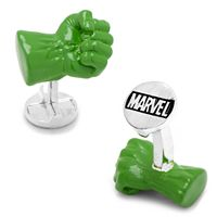 Marvel Comics 3D The Incredible Hulk Fist Cuff Links