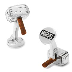 Marvel Comics 3D Thor Hammer Cuff Links