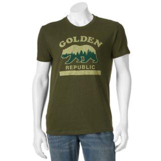 """Men's SONOMA Goods for Life™ """"Golden Republic"""" Tee"""